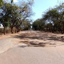 Straße in Moshi