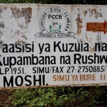 PCCB-Büro in Moshi