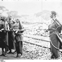 Deutsch-Ostafrika, Massaifrauen