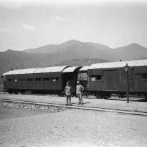 Bahnhof Morogoro, vor den Uluguru-Bergen