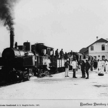 Bahnhof, Dernburg in Ostafrika, 1907