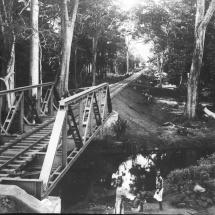 Bahnbrücke der Zentralbahn