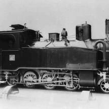 Tenderlokomotive, 1-Meter-Spur, Mittelland-Bahn / Hanomag 1910